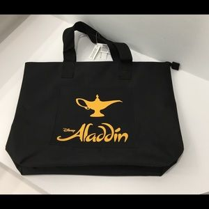 DISNEY ALADDIN Tote Bag & Program